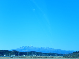 高原山と鶏頂山