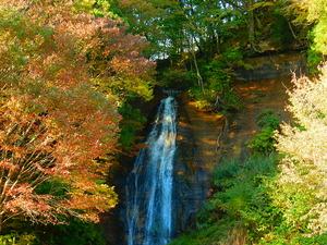 秋の要害の滝