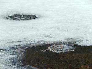 早春の塩原大沼
