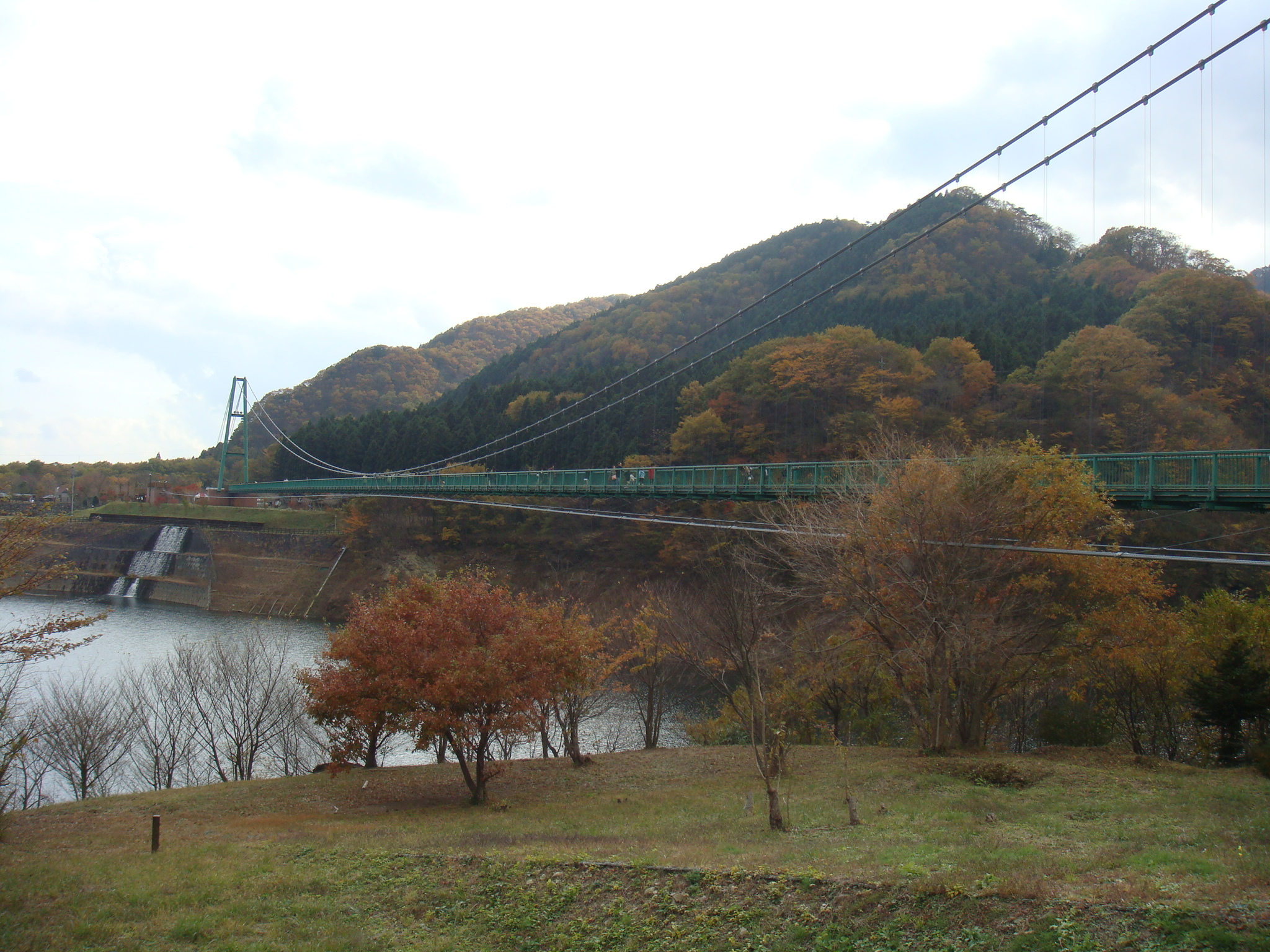 もみじ谷大つり橋