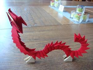 折り紙の竜