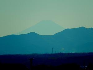 栃木県庁から見えた富士山