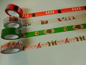 クリスマスのマスキングテープ