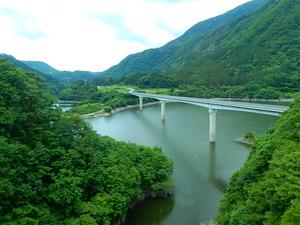 会津鉄道の車窓より