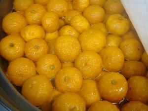 柚子の蜜煮