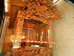 鹿沼の屋台彫刻