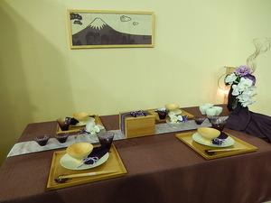 富士山コーディネート