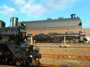 真岡鐡道蒸気機関車