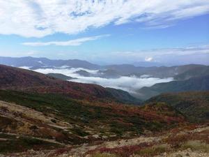 会津の山並み