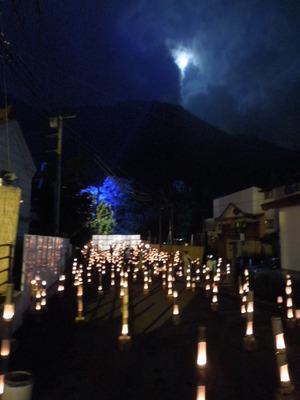 竹の宵まつりの夜
