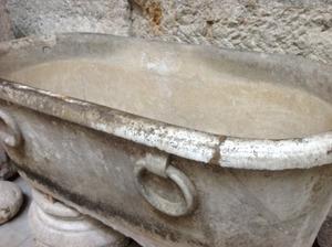 古代ローマ時代のバスタブ!