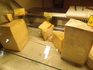 こんな大きなチーズも