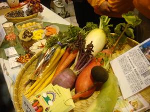 こちらもカラフル洋野菜