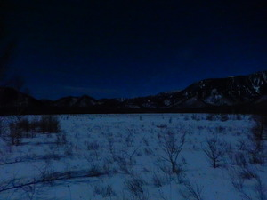 月あかりの戦場ヶ原