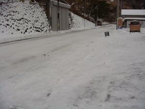 今朝の道路状況