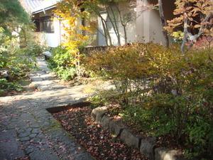 個人宅の庭を開放