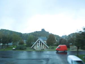 小さな町にもお城が
