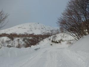 冬の終わりの那須岳