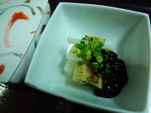 鰻と長芋の博多蒸し