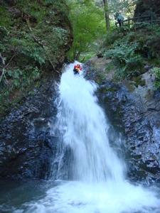 風挙の滝キャニオニング