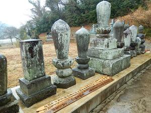 住職らの墓