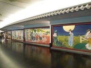 廊下の内装
