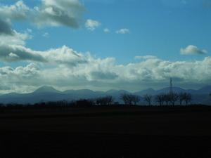 ヴォルヴィック山の山並み
