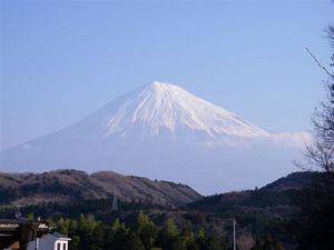 ふるさとの富士山