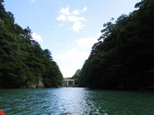 板室ダムの水門
