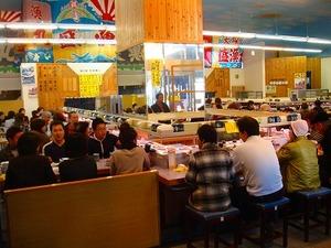 人気の回転寿司