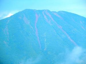 小田代ヶ原から見る男体山
