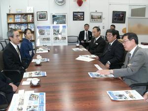 栃木県農政部の方との懇談会