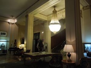 クラシックなホテル内部