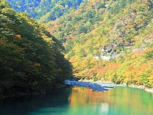 箒川ダム2017.10.26