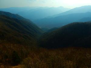 奥日光半月山からの眺め