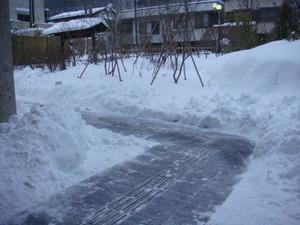 積雪30センチ?