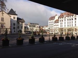 市の中心部