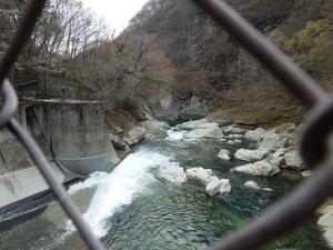 塩原ダムからの眺め