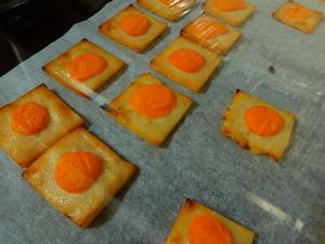 板粕のチーズ焼き