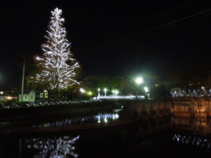栃木市のイルミネーション