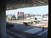 那須塩原駅からの山並み(塩原方面)