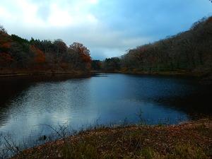 晩秋の大沼