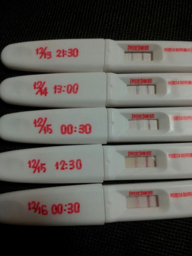 排卵検査薬 陽性 いつまで