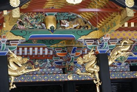 大崎八幡宮・本殿彫刻