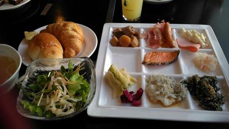 小西ホテル朝食