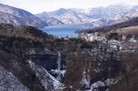 明智平からの華厳の滝