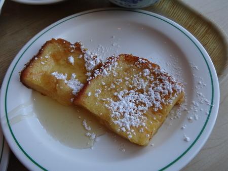 森の風 朝食フレンチトースト