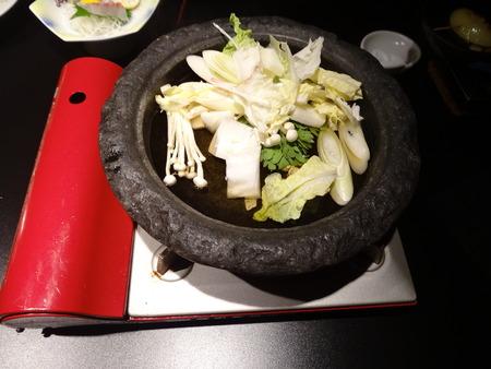 鍋物・出汁すき焼き・セッティング
