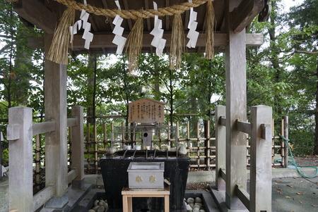 大崎八幡宮・手水鉢