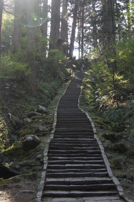 羽黒山参道